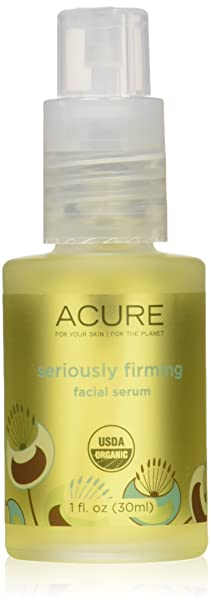 Acure Seriously Firming Facial Serum, 1 Ounce