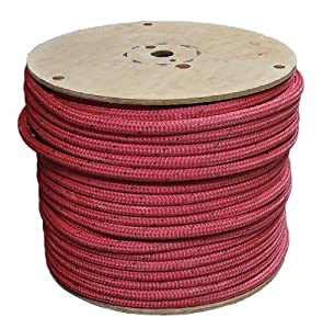 Rigging Line, 5 8 In x 600 Ft, Red by All Gear