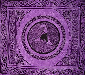 Maiden Mother Crone Celtic Goddess Tapestry-Bedspread