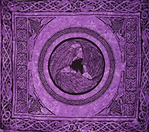 Maiden Mother Crone Celtic Goddess Tapestry-Bedspread
