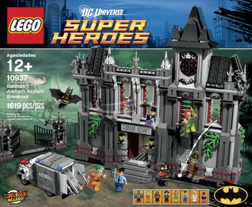 LEGO Super Heroes Arkham Asylum Breakout (10937) (Discontinued by manufacturer) at Gotham City Store