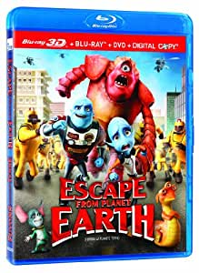 amazoncom escape from planet earth bluray 3dbluray