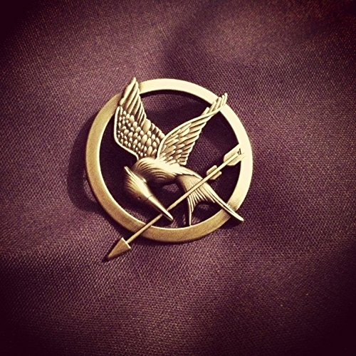 The Hunger Games Movie Mockingjay Prop Rep Pin - 1