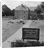 Canvas Print of Ministry of Pensions and National Insurance AA075348 from English Heritage