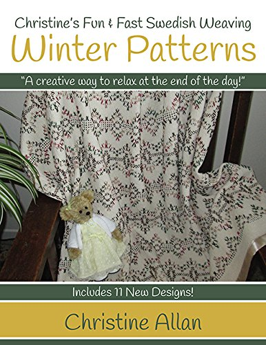 Christine's Swedish Weaving Winter Patterns Book (Monks Cloth compare prices)