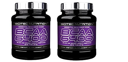 Scitec Nutrition BCAA 6400, 2erPack, (2x375 Tabletten)
