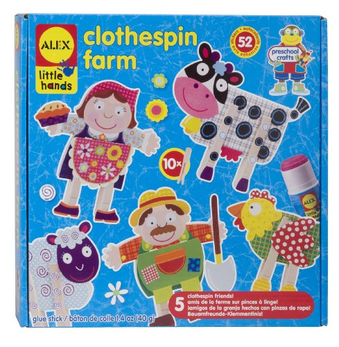 ALEX Toys Little Hands Clothespin Farm - 1