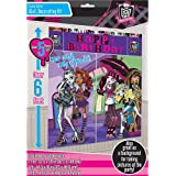 Monster High Wall Decorating Kit Birthday Party Pack Supplies Girl