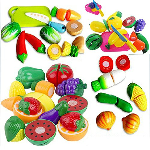 Xidaje Excellent Kitchen Food Play Toy Cutting Fruit Vegetable Knife For Dear Kids Nice Gift