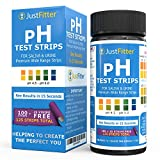 pH-Test-Strips-for-Testing-Alkaline-and-Acid-Levels-in-the-Body-Track-Monitor-your-pH-Level-using-Saliva-and-Urine-Get-Highly-Accurate-Results-in-Seconds-125-strips-per-bottle-100-25-free
