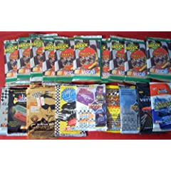 Buy 20 Original Unopened Packs of RACING NASCAR Cards (1991-1996) - Look for Dale Earnhardt. Jimmy Johnson. Mark Martin.... by Action