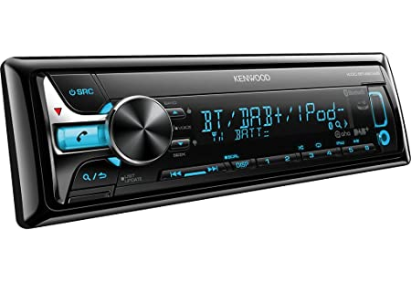 Kenwood Electronics KDC-BT49DAB Autoradio CD/DVD Noir