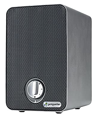 GermGuardian AC4020 3-in-1 True HEPA Air Purifier System with UV Sanitzer and Odor Reduction, 9-Inch Table Top Mini Tower