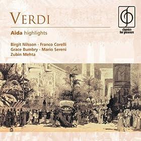 Aida (highlights): Qual gemito!...Morir, s� pura e bella!...O terra, addio