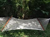 The Garden Store Cotton Rope Hammocks With Bar