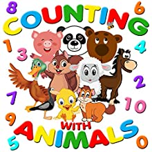 Counting with Animals Audiobook by Roger William Wade Narrated by Brenda Markwell
