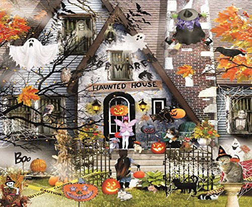 Haunted House - A 1000 Piece Jigsaw Puzzle By SunsOut