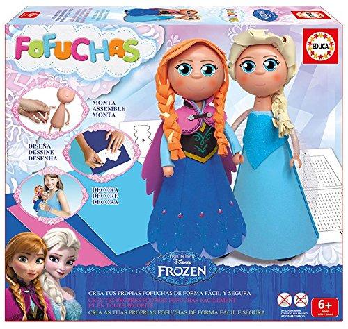 Frozen - Fofuchas, Ana y Elsa (Educa 644248 )