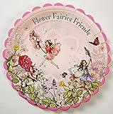 Meri Meri Flower Fairies 9-Inch Large Plates, 12-Pack