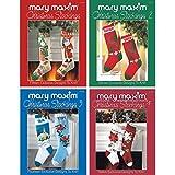 Mary Maxim Christmas Stockings Pattern Books