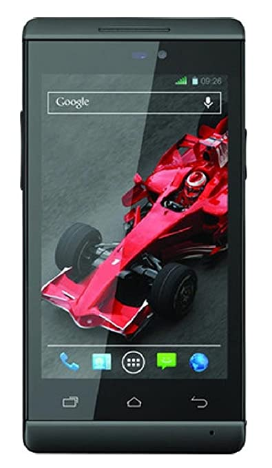 Xolo A500s IPS  Black, 4 GB  available at Amazon for Rs.2778
