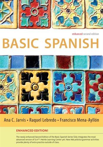 Basic Spanish Enhanced Edition: The Basic Spanish Series (Basic Spanish (Heinle Cengage)) front-971862