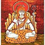 """Volkskunst aus Indien Batik-Gem�lde Wachs auf Stoff 91 x 89 cmvon """"ShalinIndia"""""""
