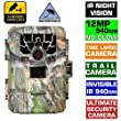 Boblov 1080P Sg880v No Glow 12Mp Mini Infrared Ir Digital Trail Game Hunting Camera 2 Inch Camo