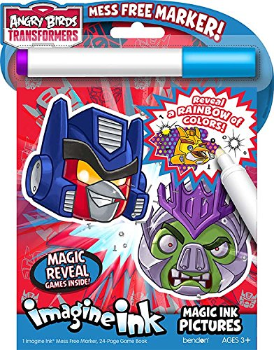 Bendon Inc. Angry Birds Transformers- Imagine Ink Activity Book - 1