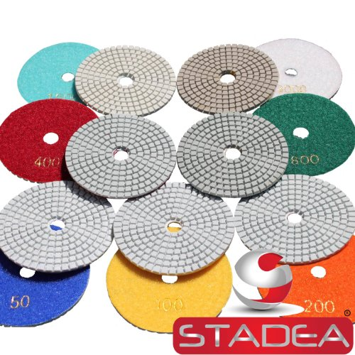 Review Of 4 Inch Wet Dry Diamond Polishing Pads For