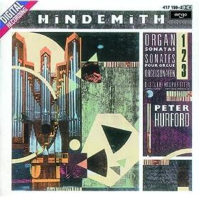 Hindemith: Organ Sonata No.1 (1937) - 1b. Lebhaft