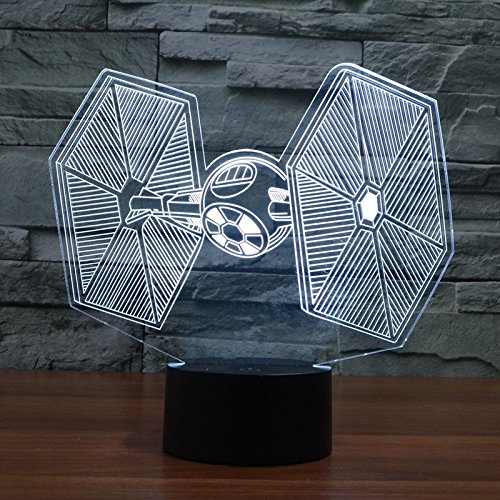 Star Wars TIE Fighter LED illusion Night Light