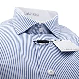 Calvin Klein Men's Classic Blue Stripe Shirt