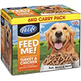 HiLife Feed Me! Turkey Chicken & Fresh Vegetables With Bacon '6KG Value Box'