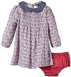 Tommy Hilfiger Baby Girls EZ57124471 Hayden Flower Baby Dress LS Dress
