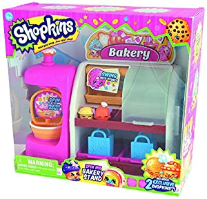 Amazon.com: Shopkins Spin Mix Bakery Stand Playset: Toys & Games