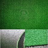 FINTA ERBA 1 X 5 MT Manto Prato sintetico Tappeto in erba sintetica zerbino