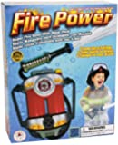 Aeromax Boys Super Soaking Fire Hose with Backpack Child