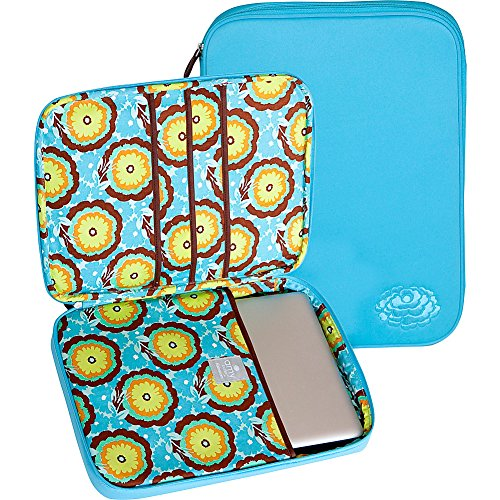 amy-butler-nola-cushioned-laptop-sleevebuttercups-turquoiseone-size