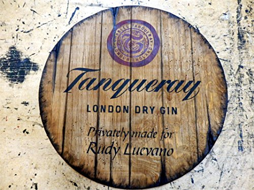 tanqueray-personalized-decorative-sign-gin-barrel-top-barrel-top-handpainted-artwork-and-your-additi