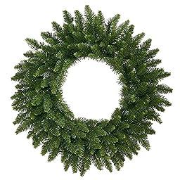 Vickerman Camdon Fir Wreath with 330 Tips, 48-Inch