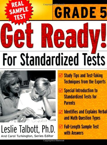 Get Ready! For Standardized Tests : Grade 5