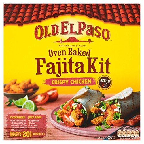 Old El Paso Crispy Fajita Kit Dîner 555G