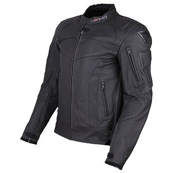 Modeka hAWKING veste en cuir noir