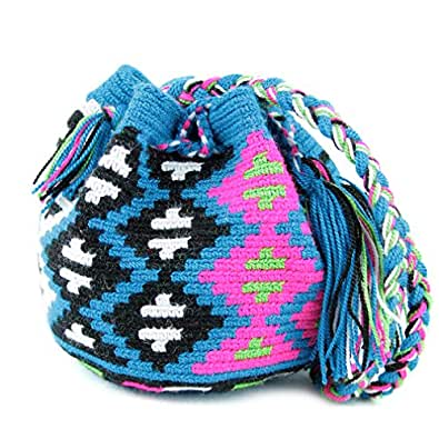 Wayuu Mochila Bag - Trendy Seasons # GF 9012 POCKET SIZE