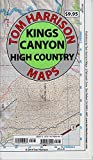 Kings Canyon High Country Trail Map (Tom Harrison Maps)