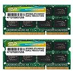 SP シリコンパワー ノートPC用メモリ 1.35V (低電圧) - 1.5V 両対応 204Pin DDR3L 1600 PC3L-12800 8GB×2枚 永久保証 SP016GLSTU160N22