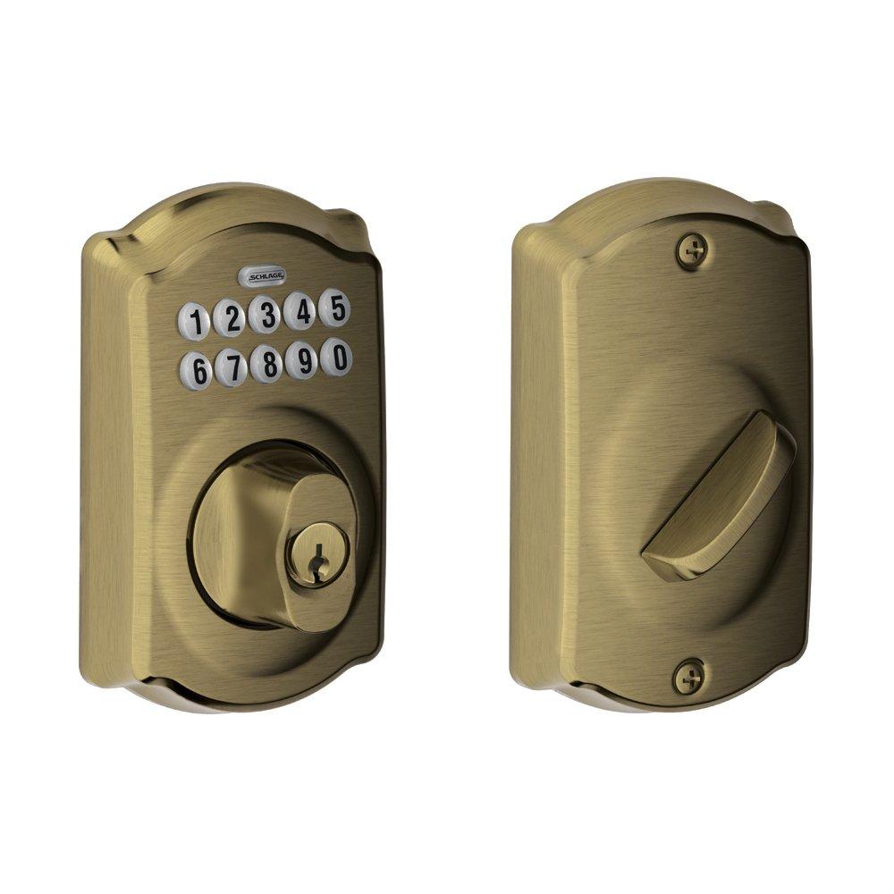 Schlage Camelot keypad deadbolt