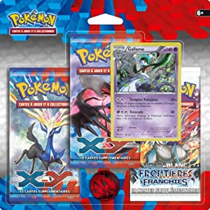 Pokémon - 3PACK01XY01 - Cartes À Collectionner - Pack 3 Boosters Xy1