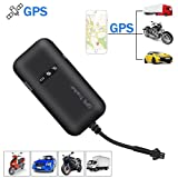 KOBWA Vehicle GPS Tracker, Real Time GPS/GSM/GPRS/SMS Global Locator Antitheft Tracking Device for Motorcycle/Car/Bike/Truck/Van/Automobile
